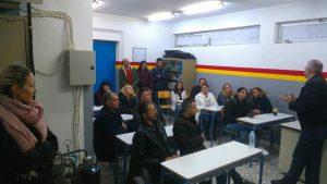 Επίσκεψη στα εργαστήρια του σχολείου