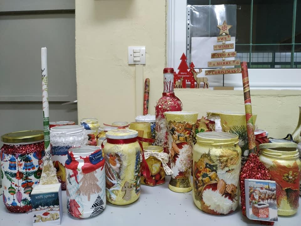 Χριστουγεννιάτικο εργαστήρι δημιουργίας